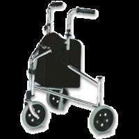 3 Wheel Walker with hand brakes