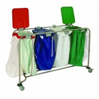 Medicart Laundry Trolley 4 Bag