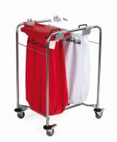 Medicart Laundry Trolley 2 Bag