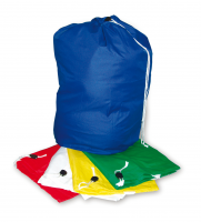 Polyester Laundry Sack Red