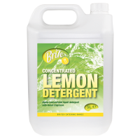 BRiTEX Lemon Detergent Washing up Liq 2x5L