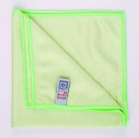 Microfibre Glass Cleaning Cloths Green