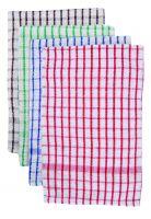 Terry Check Tea Towels pk10