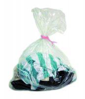 Dissolving Strip Laundry Sacks Clear 1x200