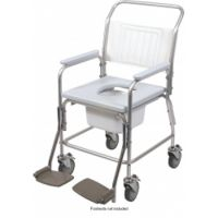 Mobile Aluminium Shower Chair