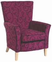 Brentwood High Back Arm Chair (C)