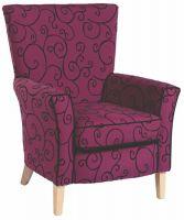 Brentwood High Back Arm Chair (B)