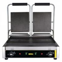Buffalo Bistro Contact Grill - Double Flat