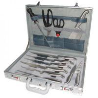 Hygiplas Knife Set In Metal Case Steel Han
