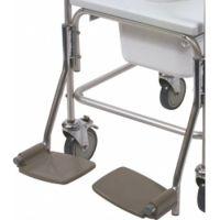 Optional Footrests Aluminium Shower Chair
