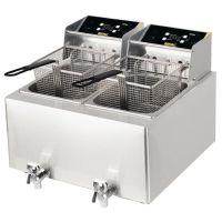 Buffalo Double Fryer - 2 x 8L 6kW
