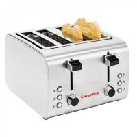 Caterlite 4 Slot Stainless Steel Toaster
