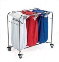 Medicart Laundry Trolley 3 Bag