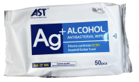 Alcohol Hard Surface Wipes 50
