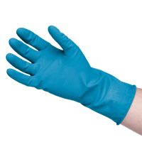 Household Rubber Gloves Blue (L)