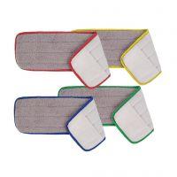 Short Pile Microfibre Flat Mops (10pk)