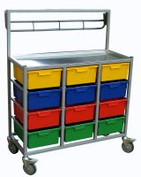 Karricart Clothing Distribution Cart 12 Tray 132cm x 105cm x 46cm