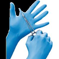 Premier Powder Free Nitrile Gloves S Blue