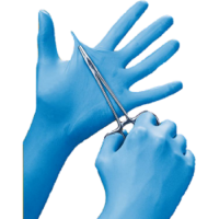 Powder Free Nitrile Gloves Blue Large 10x100