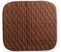 Washable Chair Pads Brown