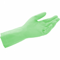 Household Rubber Gloves Green (L)