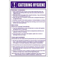 Catering Hygiene Sign (Self-Adhesive)