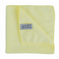 Excel Microfibre Cloth Yellow Pack of 10