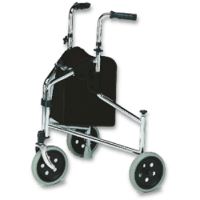 3 Wheel Walker with hand brakes