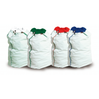 Polyester Fluid Proof Laundry Bag Red