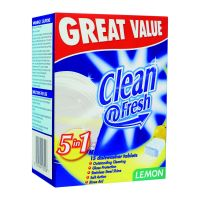Clean & Fresh Dishwash Tablets 8x15