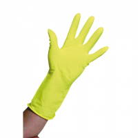Household Rubber Gloves Yellow (M)