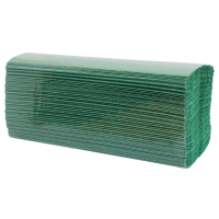 Green C-Fold Hand Towels 2700