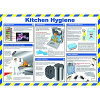 Kitchen Hygiene For Caterers Sign