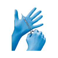 Premier Powder Free Nitrile Gloves XL Blue