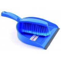 Dustpan & Brush Blue