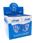 Clinell Hand Wipes Pack 100 (Individually Wrapped)